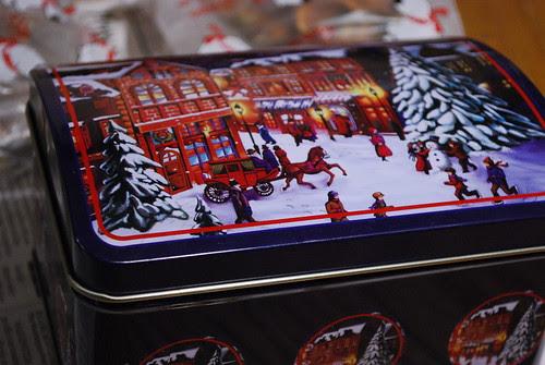 Christmas treats abound.