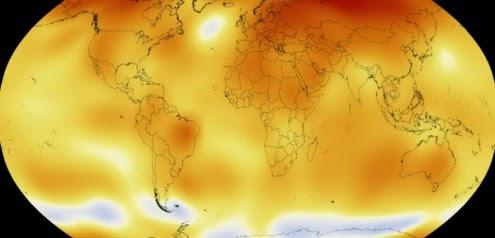 Junho: o mais quente da história