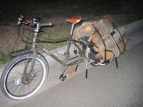 Wood Hauling - Second load
