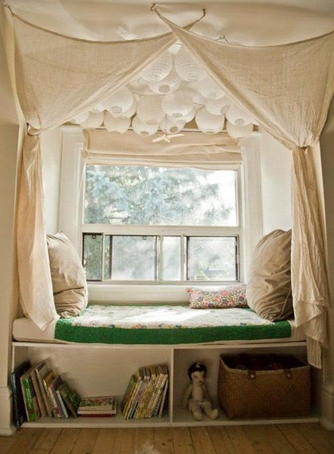 How to create DIY window seat cushion - Decor Around The World