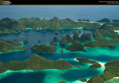 Raja Ampat na Papua Ocidental, Indonésia