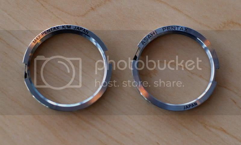 Genuine Pentax M42 Adapter