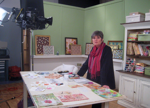 Filming my own workshop DVD with Interweave