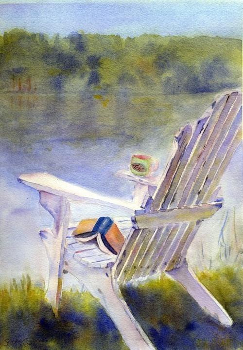 Summer reading: what a pleasure! /Verano y lectura: qué placer! (ilustración de S.E.Martin)