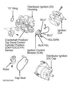 Honda Civic Ignition Control Module Location