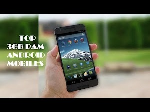 Android smartphones with 3GB RAM 2016