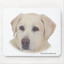 Yellow Lab Mousepad mousepad