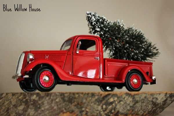 vintage toy pickup truck