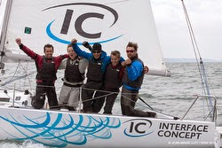J/80 sailing Normandy Sailing Week off Le Havre, France