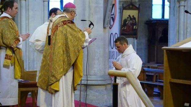 Ordination service of Philip Mulryne, Dublin, 29 October 2016