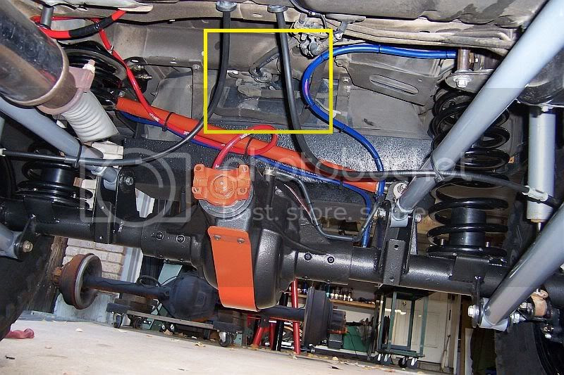 2004 Jeep Liberty Fuel Filter Location
