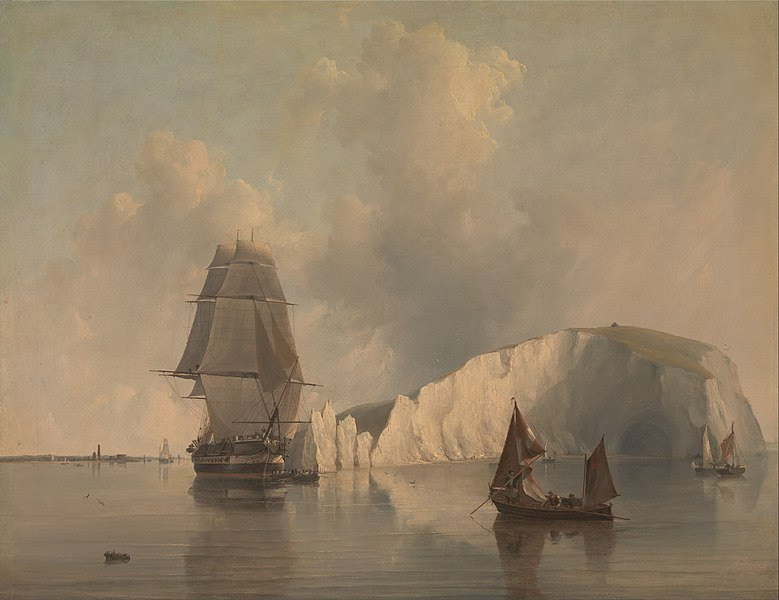 File:Edward William Cooke - Off the Needles, Isle of Wight - Google Art Project.jpg