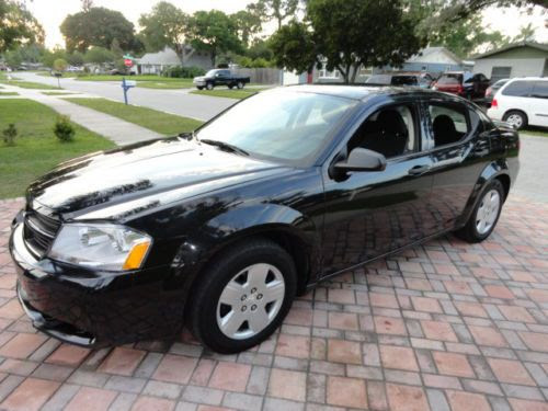 Buy Used 2009 Dodge Avenger Se Black On Black New Tires All Power No Reserve In Pinellas