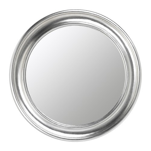 SONGE Mirror IKEA Safety film  reduces damage if glass is broken.