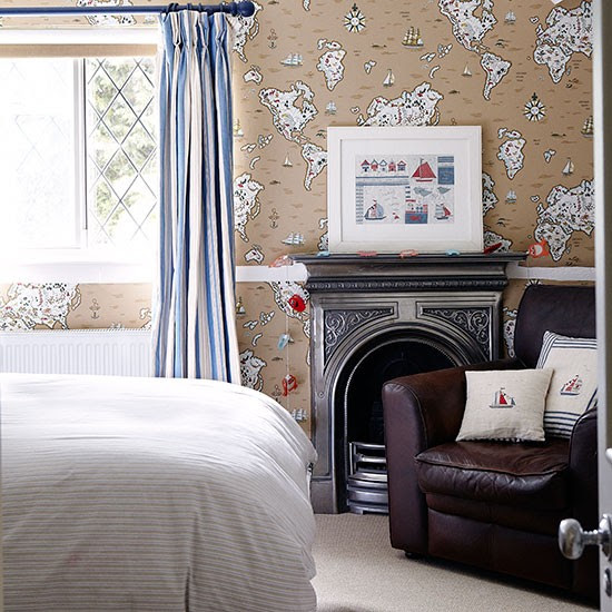 Boy's bedroom | Herfordshire barn conversion | House tour | PHOTO GALLERY | Country Homes & Interiors | Housetohome.co.uk