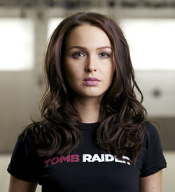 Camilla Luddington, voice of the new Lara Croft