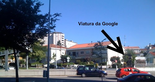 Google Street View Car in Braga (Portugal)