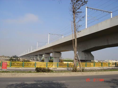高鐵與青海橋