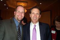 Howard Schultz and Rabbi Jason Miller