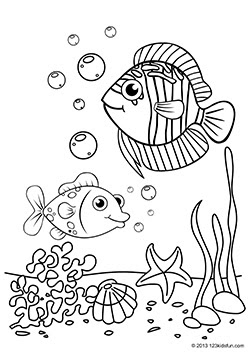 Coloring pages for kids | 123 Kids Fun Apps