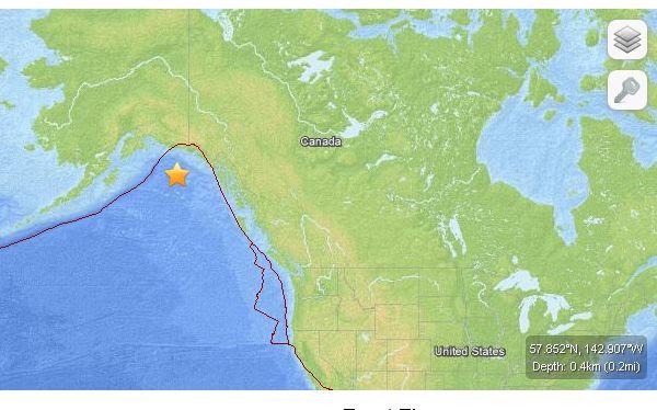 Sismo de 6,4 grados sacudió el oeste de Alaska