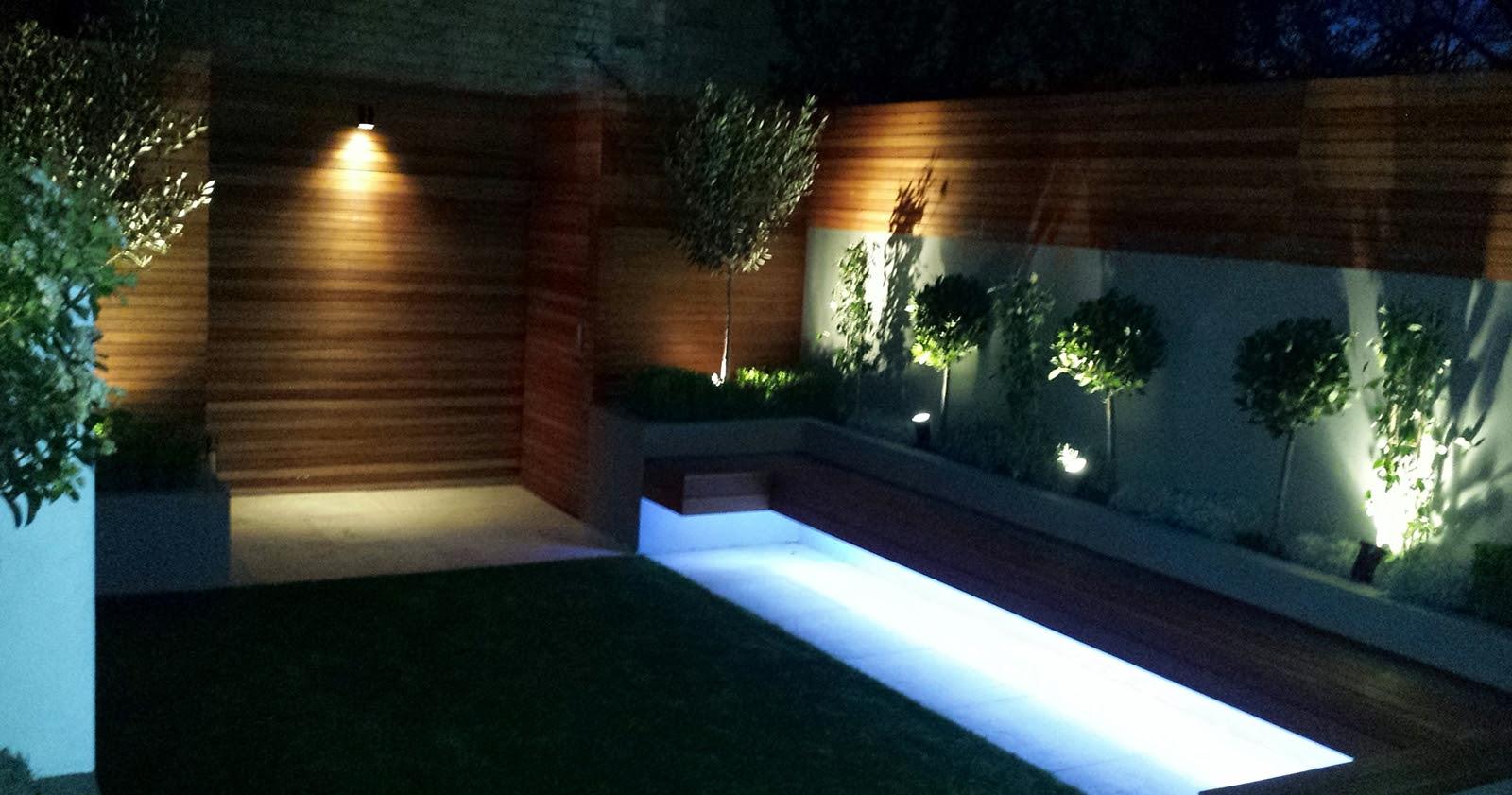 Modern Small Garden Design Clapham Battersea Balham London ...