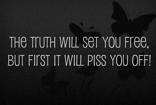 The Truth Will Set You Free Quote Picture