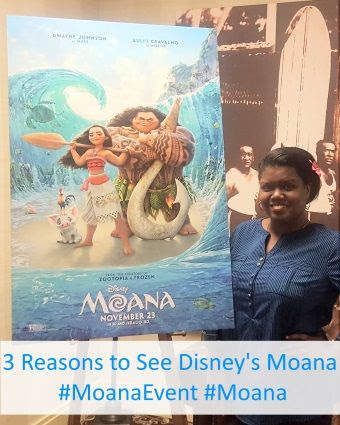 3 reasons to see Disney's Moana Movie