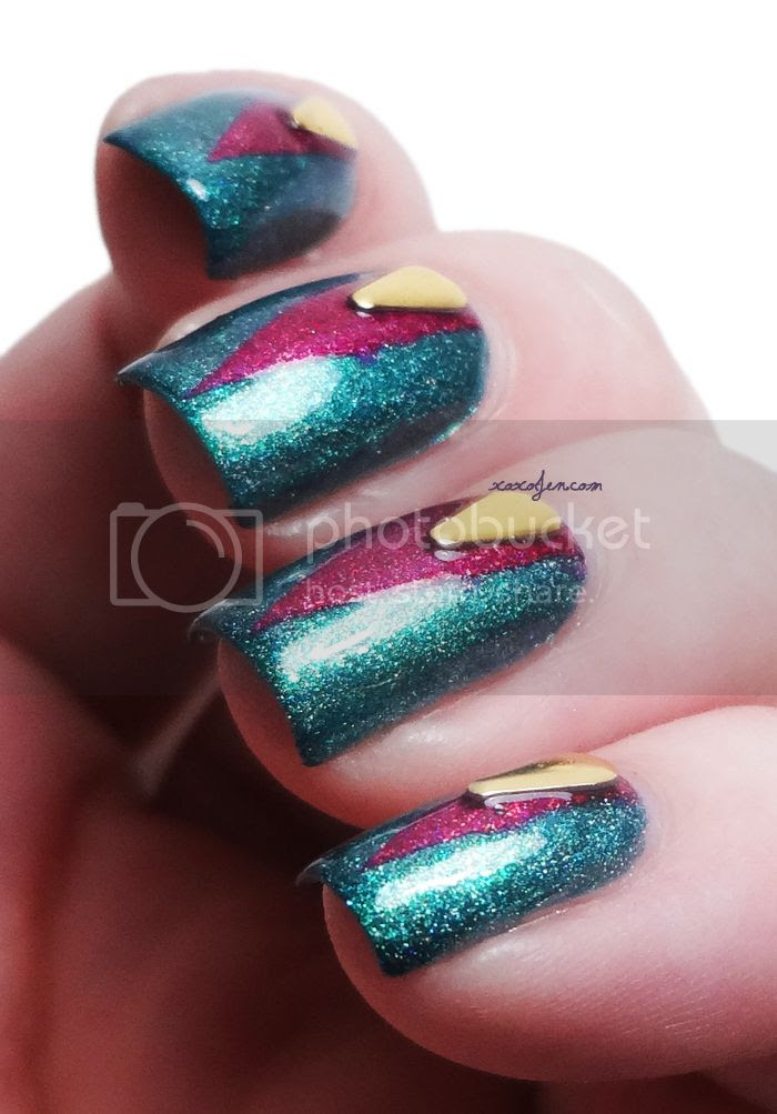xoxoJen's swatch of Glam Polish Nail Art Studs