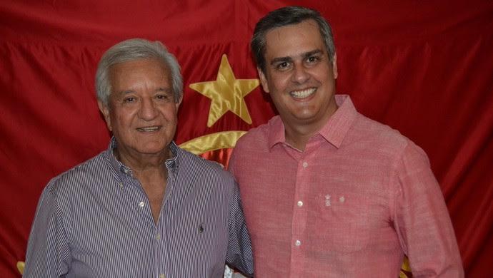 América-RN - Jussier Santos e Beto Santos (Foto: Jocaff Souza/GloboEsporte.com)