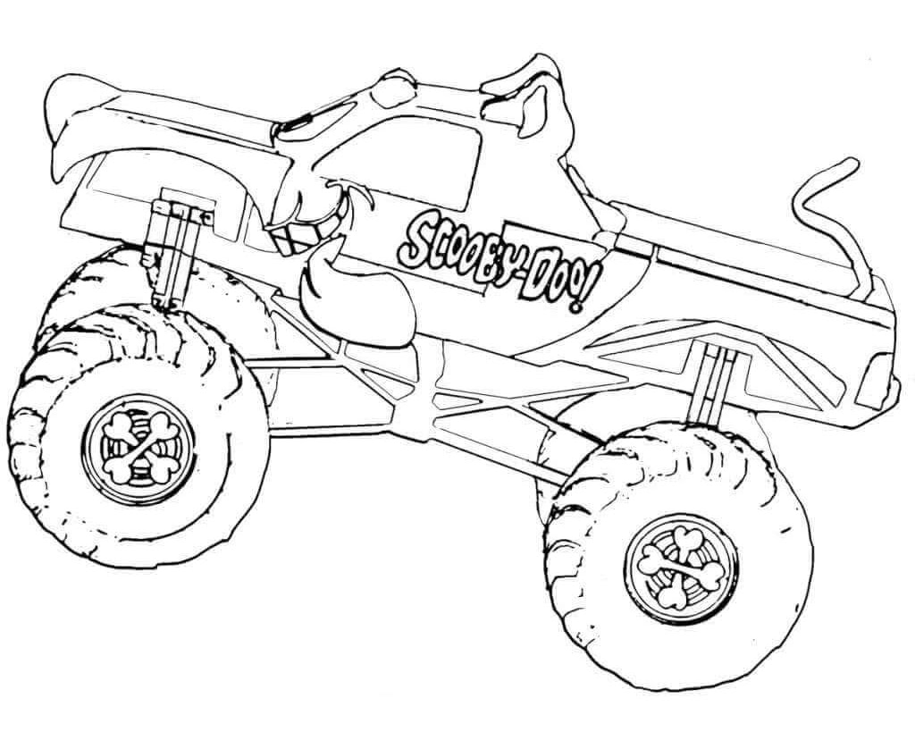 Monster Truck Silhouette at GetDrawings | Free download