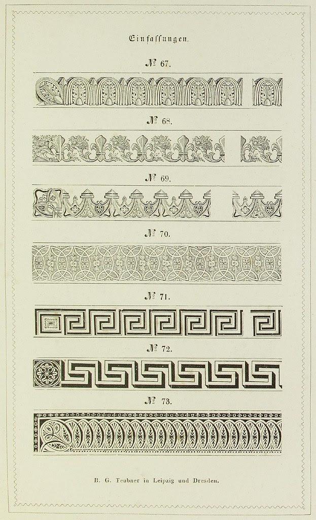 Schrift- und Polytypen-Proben BG Teubner, 1846 g