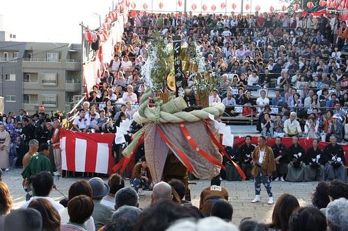 長崎くんち2012・今博多町・傘鉾