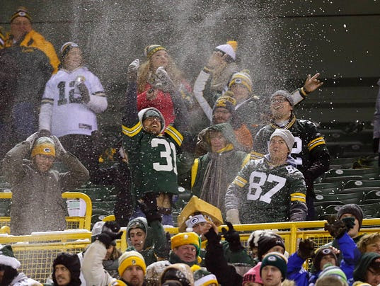 Image result for Packers-Giants game arrests