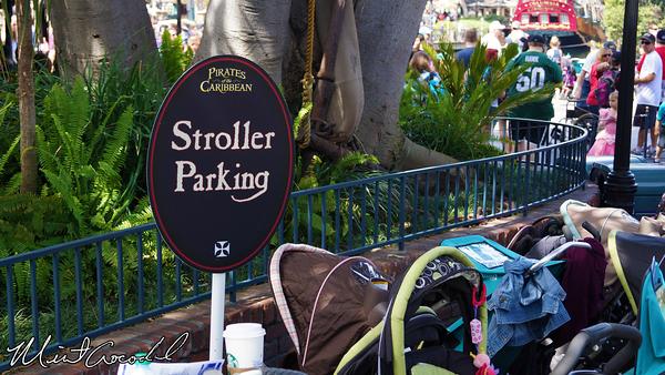 Disneyland Resort, Disneyland, Pirates of the Caribbean, Stroller Parking