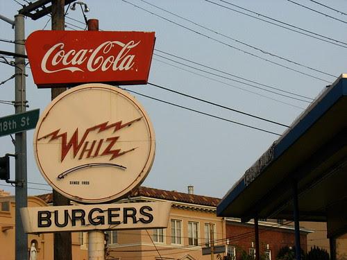 Whiz burgers
