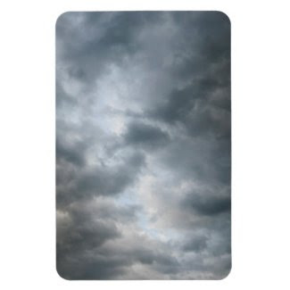 Storm Clouds Breaking Vinyl Magnets