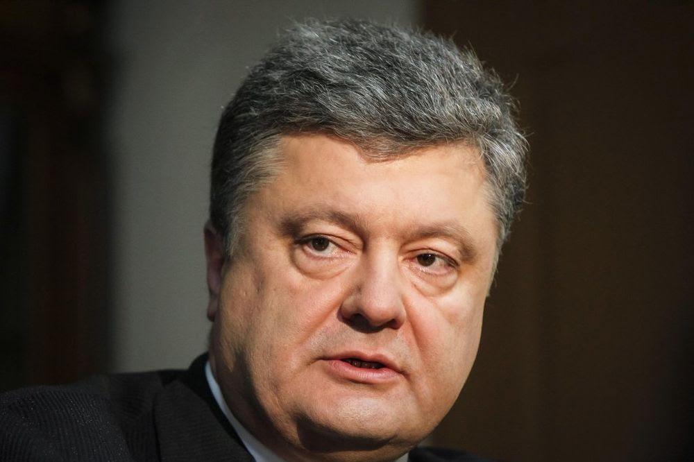 Pjotr Porošenko: Istok Ukrajine poznaje samo jezik sile Foto Reuters