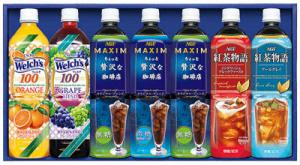 三重県津松菱百貨店,お中元ギフト,AGF ファミリー飲料ギフト