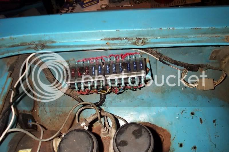 Chevy Luv Fuse Box