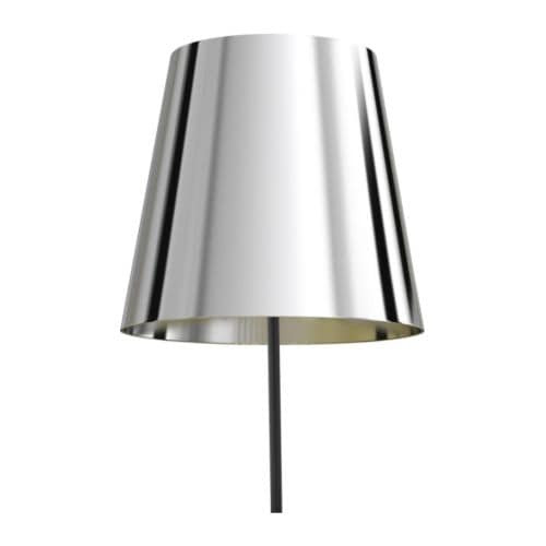 GNEJS Shade IKEA Directed light, shade of imitated silver makes the light extra decorative.