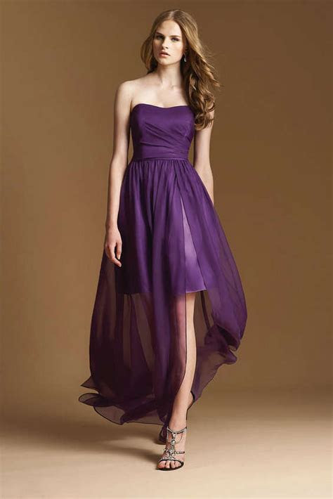 Look Gorgeous with Stylish High low Bridesmaid Dresses