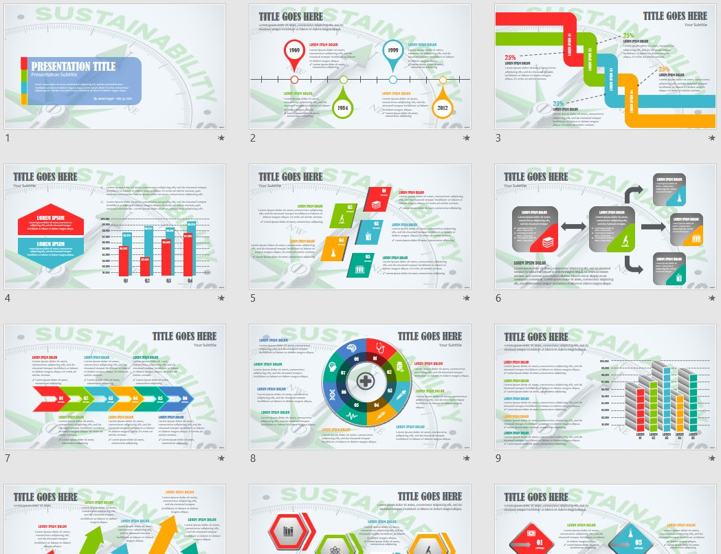 Sustainability Powerpoint Template 161188