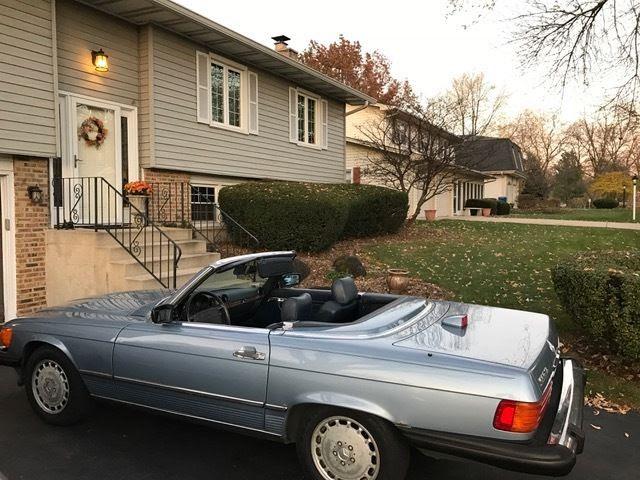1986 Mercedes 560SL 2 Door Coupe Hard Top Convertible 1 ...