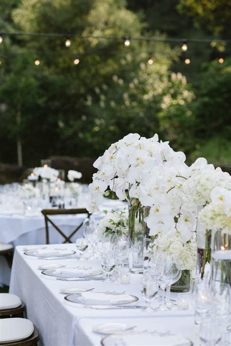 White Napa Wedding Elegance at Meadowood   MODwedding