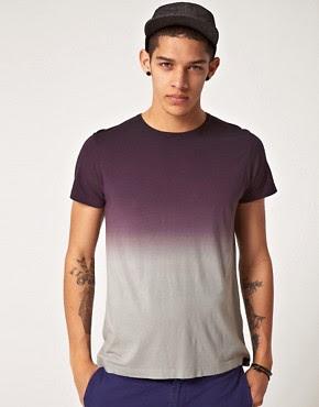Image 1 ofBoxfresh Dip Dye Bamboo T-Shirt
