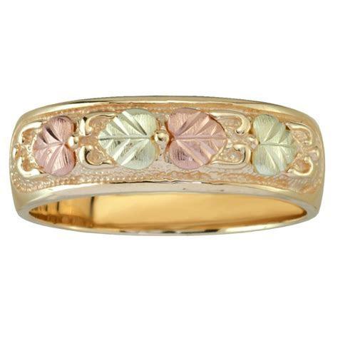 Black Hills Gold Wedding Ring For Men   BlackHillsGold