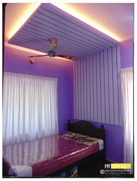 simple style interior ideal kids bedroom designs  kerala