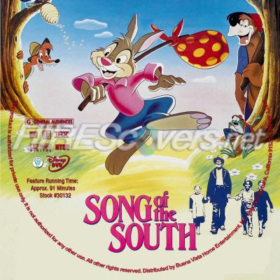 Dvd Cover Custom Dvd Covers Bluray Label Movie Art Dvd Custom Labels S Song Of The South