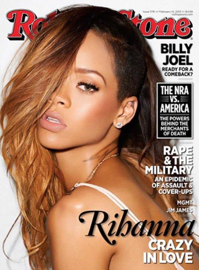 Coming clean: Rihanna speaks about her reconciliation with Chris Brown in the new issue of Rolling Stone magazine